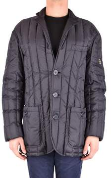 Armani Jeans Men's Black Polyamide Jacket.