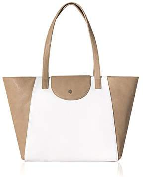 Co The Lovely Tote Women's Top Handle Purse Color Block Satchel 2-way Tote