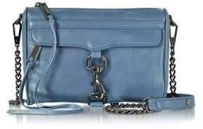 Rebecca Minkoff Women's Blue Leather Shoulder Bag. - BLUE - STYLE