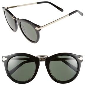 Karen Walker Women's 'Harvest' 50Mm Sunglasses - Black
