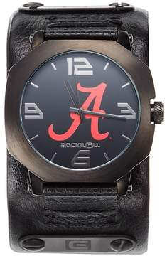 Rockwell Kohl's Men's Alabama Crimson Tide Assassin Leather Watch