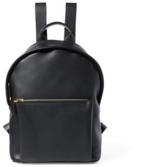 Ralph Lauren Tumbled Calfskin Backpack Black One Size