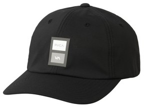 RVCA Men's Ra Sport Trainer Baseball Cap - Black