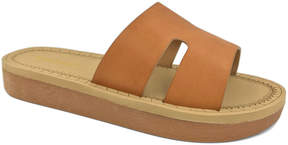 Bamboo Tan Upraise Slide - Women
