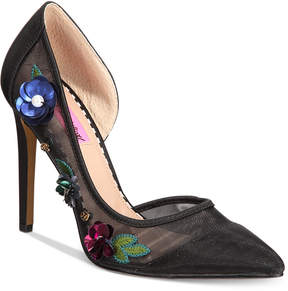 Betsey Johnson Jewel Pumps Women's Shoes