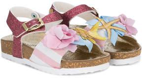 MonnaLisa buckled strap sandals