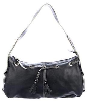 Hogan Leather Drawstring Shoulder Bag