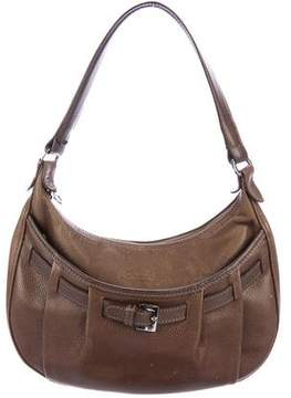 Longchamp Belted Leather Shoulder Bag