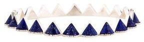Amrapali Lapis Lazuli Spike All Around Bangle Bracelet
