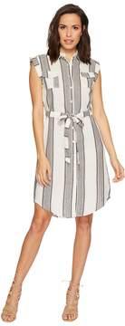 Bishop + Young Stripe Shirtdress Women's Dress