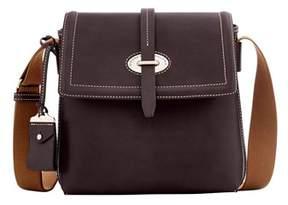 Dooney & Bourke Florentine Toscana Small Messenger Bag. - ESPRESSO - STYLE
