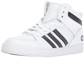 adidas Boys' Raleigh 9TIS Mid K Sneaker, White/Black/White, 6.5 M US Big Kid