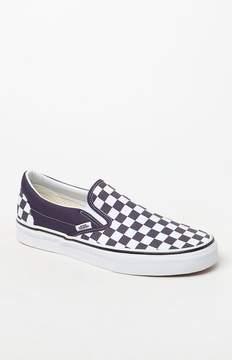 Vans Women's Checkerboard Slip-On Sneakers