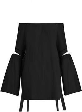 Ellery Cyril off-the-shoulder cotton top