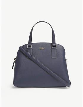 Kate Spade Blazer Blue Striped Cameron Street Lottie Leather Satchel Bag