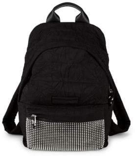 McQ Embellished Logo Backpack