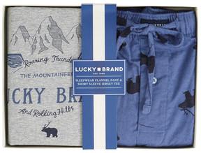 Lucky Brand Crew Tee With Pants