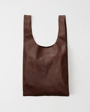 Leather Baggu Tote