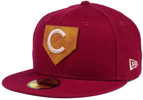 New Era Chicago Cubs The Logo of Leather 59FIFTY Fitted Cap