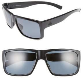 Women's Adidas Matic 59Mm Sunglasses - Shiny Black/ Grey Polar