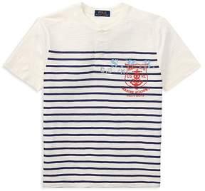 Polo Ralph Lauren Boys' Jersey Short Sleeve Henley Tee - Big Kid