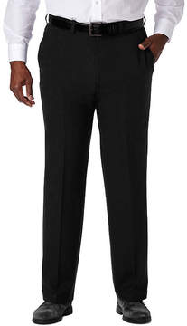 Haggar Cool 18 Pro Flat Front Pant- Big & Tall