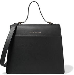 Victoria Beckham - Topaz Textured-leather Tote - Black