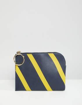 French Connection Oakley Striped Purse