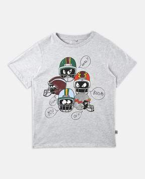 Stella McCartney arrow helmet print t-shirt
