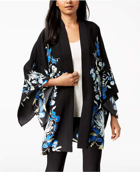 Alfani Floral-Print Kimono, Created for Macy's