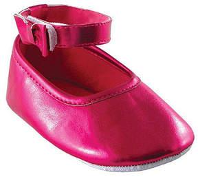 Luvable Friends Pink Ankle-Strap Flat - Infant