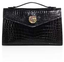 Alice + Olivia Ethan K K22 Crocodile Top-Handle Bag