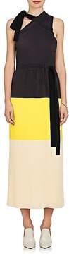 Derek Lam 10 Crosby Women's Colorblocked One-Shoulder Dress