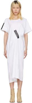 Facetasm White and Black Tape T-Shirt Dress
