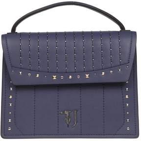 Trussardi Curcuma Small Grained Faux Leather Shoulder Bag