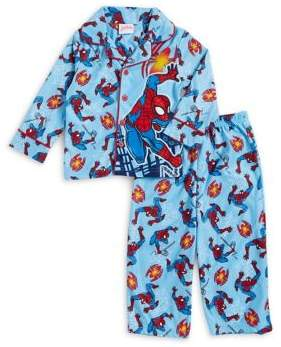 AME Sleepwear Little Boy's Two-Piece Spiderman Pajama Set