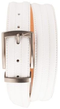 Men's Nike Golf 'G-Flex Tripunto' Leather Belt