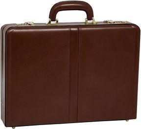 McKlein McKleinUSA Reagan Leather 3.5 Attach Briefcase