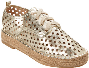 Catherine Malandrino Abra Leather Espadrille