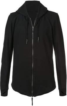 11 By Boris Bidjan Saberi zip-front hoodie