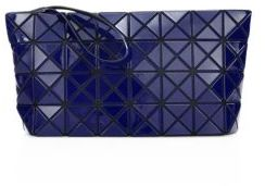 Bao Bao Issey Miyake Prism Gloss Faux Leather Zip Pouch