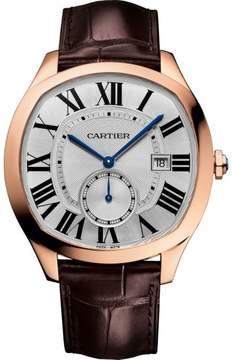 Cartier Drive WGNM0003 Rose Gold and Leather Automatic Watch