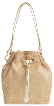 Eric Javits 'Ava' Bucket Bag - Metallic