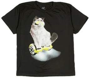 Freeze Boys' Cat Graphic T-Shirt Black