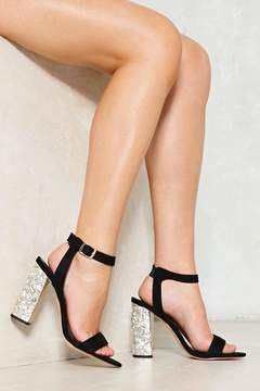 Nasty Gal Downtown Lights Diamante Heel