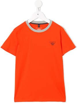 Emporio Armani Kids chest logo T-shirt