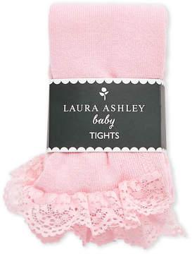 Laura Ashley Newborn/Infant Girls) Pink Rhumba Tights