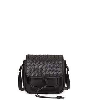 Bottega Veneta New Tie Mini Saddle Bag