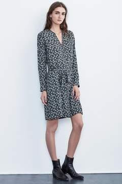 Velvet by Graham & Spencer MARIYAH FLORAL PRINT MIX CHALLIS SHIRT DRESS