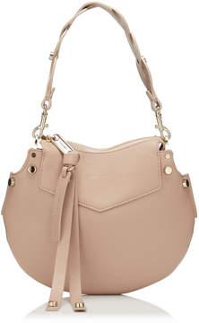 Jimmy Choo ARTIE MINI Ballet Pink Nappa Leather Shoulder Bag
